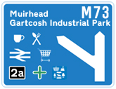 M73 Junction 2a